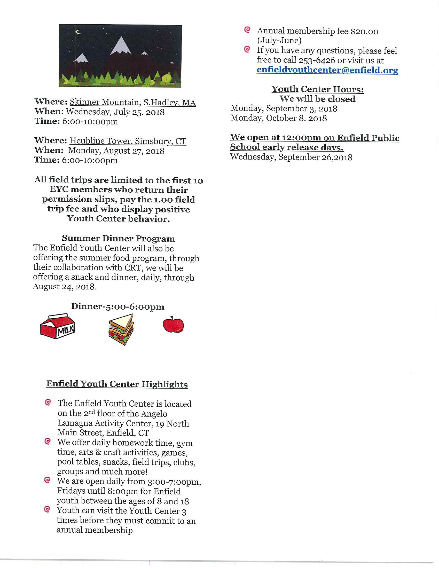 Summer Newsletter page 2
