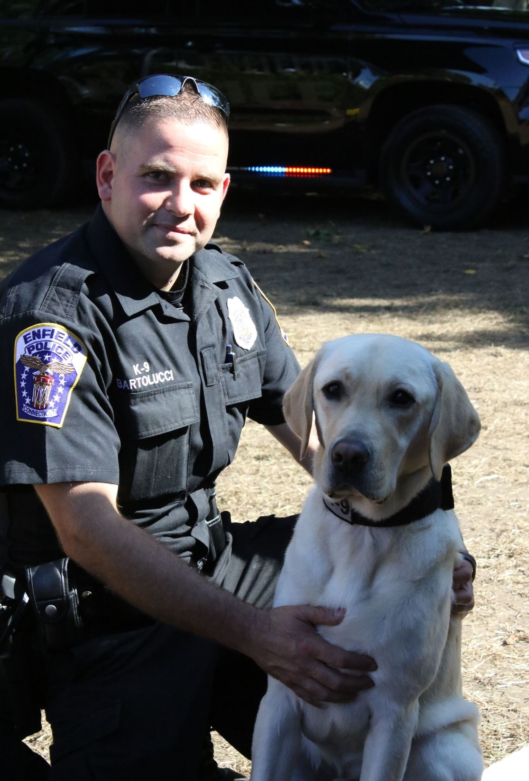 Officer Bartolucci and K9 Britford